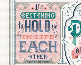 Charity SAL for Mind - Release 5 of 9  Cross Stitch Pattern (Digital Format - PDF)