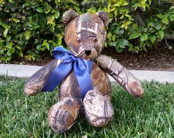 Real Tree Camo Teddy Bear