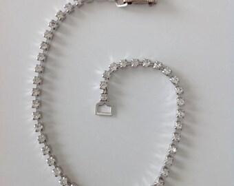 Vintage strass rhinestone bracelet