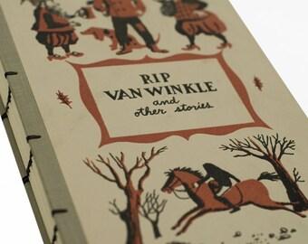 1955 RIP VAN WINKLE Vintage Recycled Book Journal