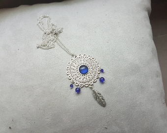 Necklace style catch Blueberry dream