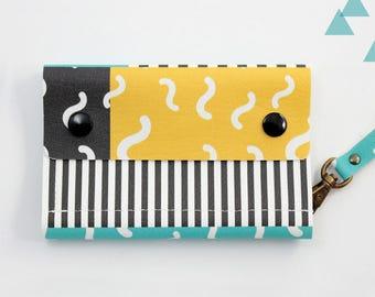 Small wallet women, Wallet women, Fold Wallet, Billfold Wallet, Bifold Mini, Slim Bifold Wallet, Vegan wallet, Handmade Wallet,  Cute wallet