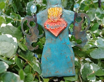Dressform Fairy turquoise ornament