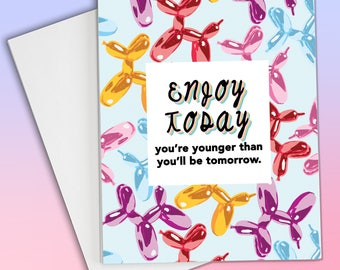 Funny Birthday Card, Happy Birthday Card, birthday card for boyfriend,  birthday card for her, birthday card for him, funny card for friend