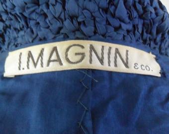 I. Magnin and Co. Original by Ann Fleischer Hand Knit 1960s Suit