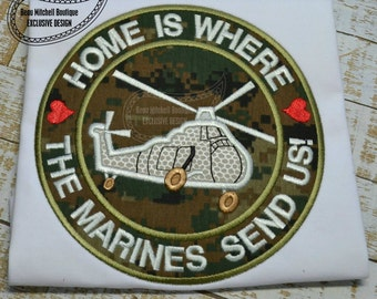 Home is where the Marines send us