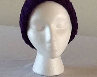 Purple Sparkly Hat