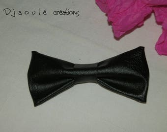 Hair bow * black *-large format