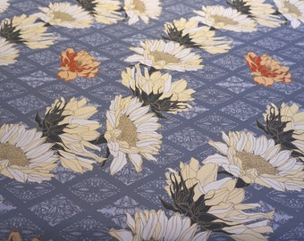 Zephyr (Dawn) Fabric - By the metre - Quality 100% cotton half panama - Upholstery and light furnishings