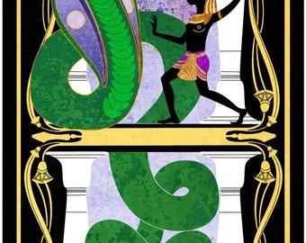 Snake Charmer - Bastet