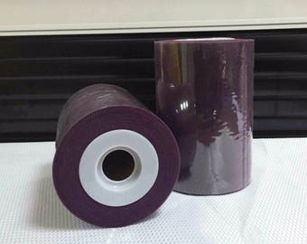 on sale 0.80 instead of soft 0.90.tulle Mystic purple by the yard for tutu and decoration.