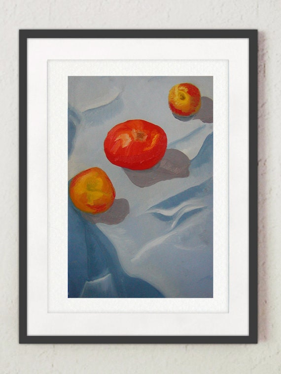 """Painting- """"Tomatoes"""""""