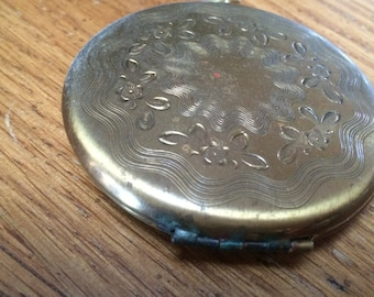 Vintage Watch Compact Zell 5th Avenue 1940's