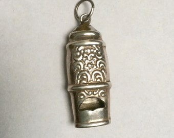 vintage sterling whistle