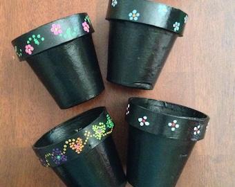 Flower pot, materos