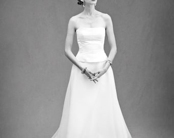 Cupcake Bodice – Custom Bridal Separates – Custom Wedding Dress – Bridal Couture by Jill Andrews Gowns