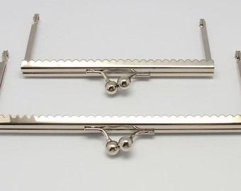 1 PC Retro Silver Metal Purse Frame / Handle Purse Frame 13.5*6cm /18*7.5cm E154