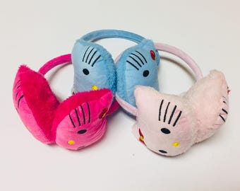 Hello Kitty and Paws ear muffs