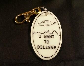 I want to Believe Keychain - X-Files