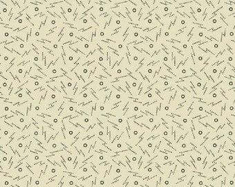 Windham Fabrics 'Cream Zig Zags' Fabric by the Yard; Threads of Time by Julie Hendricksen 39714-1