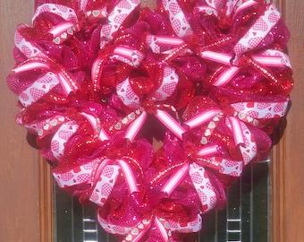 Valentine Heart Wreath