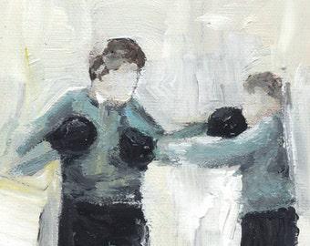 Boxing Boys No.4