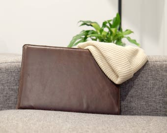 "Macbook Pro 13"" Leather Sleeve – Handmade in NZ"