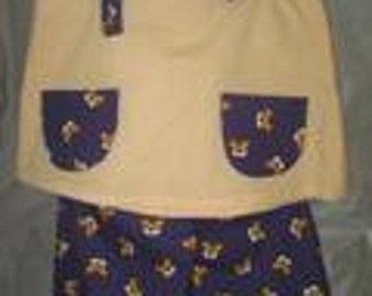 baby tiger shorts and shirt