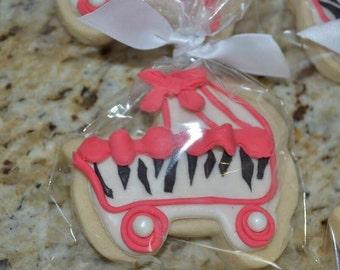 Baby Shower Cookies Zebra Prints