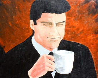 Agent Dale Cooper, Original Painting