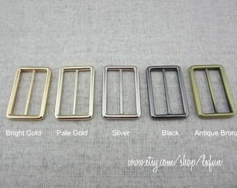 1.5 inch Metal Slide Buckle Strap Adjuster
