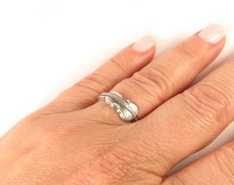 Cello Ring, Small Cello Ring, Sterling Silver Finish and Brass Finish Available