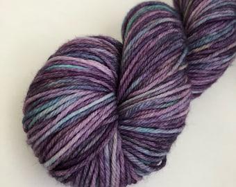 "Hand dyed yarn Sport weight in ""OOAK"""