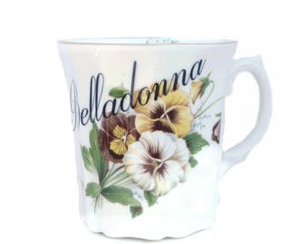 Belladonna Poison Altered Coffee Cup