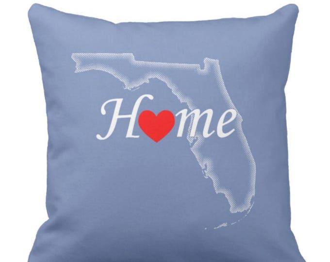 Throw Pillow Florida Home Love