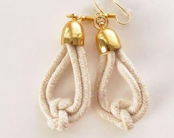 True Lovers Knot Earrings
