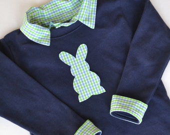 Baby Easter Outfit - Baby's First Easter Shirt - Baby Boy Easter Outfit - Boys Easter Shirt - Baby Boy Easter Shirt - Boy Easter Bunny Shirt
