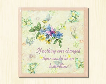 Butterflies - Instant Downloadable Art Print Digital Wall Art Printable Nature Floral Art Home Decor