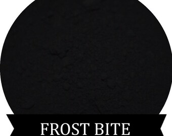Matte Black Eyeshadow FROST BITE