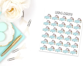 Bed Planner Stickers