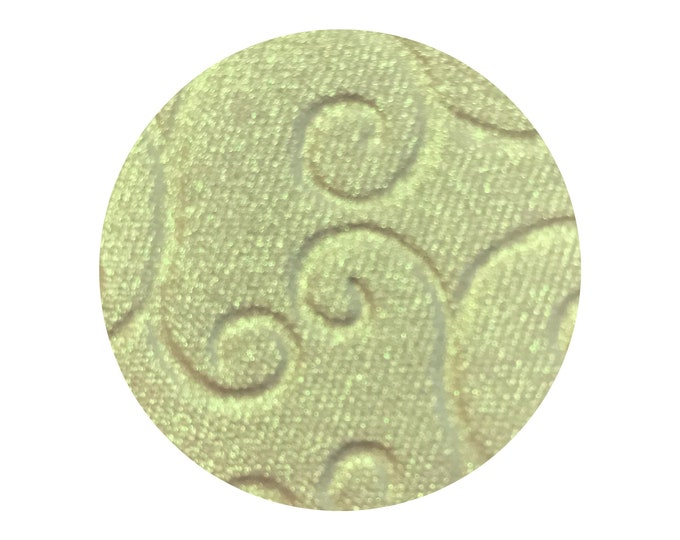 ELECTRICITY - iridescent  Duochrome Pressed Highlighter - lime green / gold shift