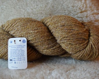 worsted weight: WILLOW 2 ply worsted weight wool yarn from Bartlettyarn