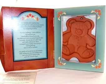 Terracotta Teddy Bear Clay Mold