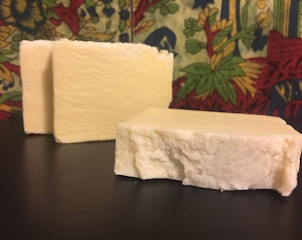 Castile soap. 100 % Extra virgin olive oil soap