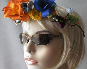 Flower Crown - Earth and Sky Multicolor