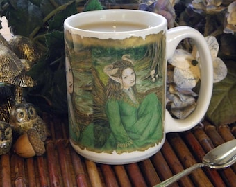 Lady of the Forest 15 oz coffee mug