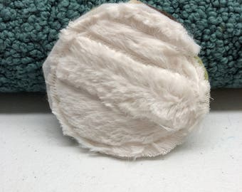 Dog Toy with Squeaker, Faux Fur, Fleece - Hand crafted NO STUFFING