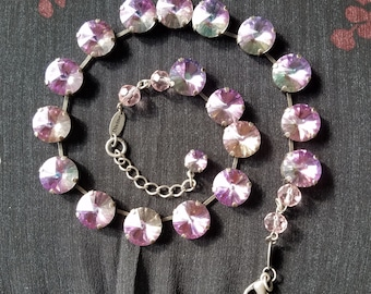 Pixie Dust - Swarovski Rivoli Necklace