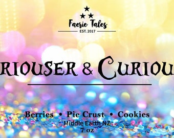 Curiouser & Curiouser 4oz Soy Candle