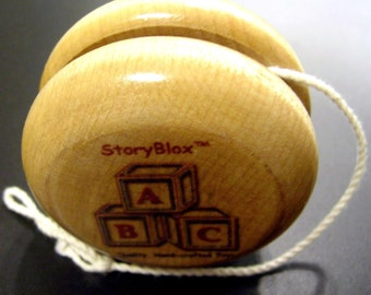 StoryBlox Branded Hardwood Yo-Yo